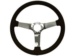 1977-82 Chevrolet Corvette OE Series Chrome Center Steering Wheel - Black