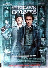 Robert Downey Jr. SHERLOCK HOLMES original Mediatheken Plakat  A1