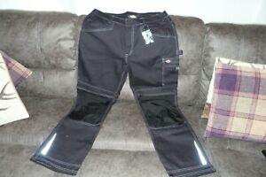 Dickies Eisenhower  Trousers Black Mens Work Pants  Waist 36R