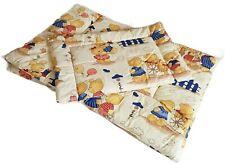 Baby Newborn Cot Bed Sleeping Bedding Set Cotton Gift Nursery 2pcs 120x60