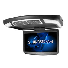 """Soundsteam VCM-138H 13.8"""" Overhead Flip Down LCD DVD Player Android Mobile Link"""