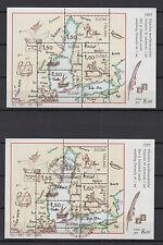 Finlande 1985 2 feuillets 8 timbres neufs et oblitérés Finlandia88 (I) /T773