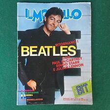 Rivista IL MONELLO n.47 1984 (ITA) PAUL McCARTNEY BEATLES TINI' CANSINO + Poster