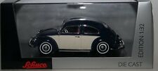 SCHUCO 0773500 VOLKSWAGEN KAFER / BEETLE in Blue / Beige 1:32 scale model