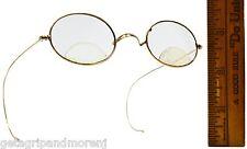 Vintage Gold Filled Eyeglasses Prescription Bifocals Cf or Ce? Wire Frames Oval