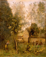 """high quality oil painting handpainted on canvas """"Farm Scene """""""