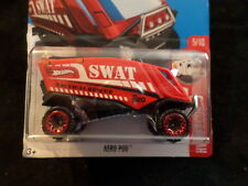 HW HOT WHEELS 2017 HW RESCUE #5/10 AERO POD RED HOTWHEELS VHTF