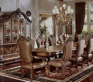 AICO by Michael Amini Monte Carlo Toscano dining set