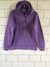 USA VINTAGE RETRO PURPLE ALASKA PRO COLLEGE SWEATSHIRT SWEATER HOODIE UK 14