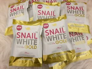 Snail White Gold Soap 80g whitening  🇺🇸free shipping