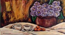 "Cecilia Mayr Original Art 20 X 34""  $900 From Her Early Works ""Natvouza Morta VI"