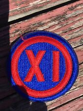 Vintage Army XI Embroidered Patch