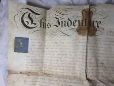 1816 Vellum Assignment of a Moiety - 58 High St SOUTHWARK London/Surrey