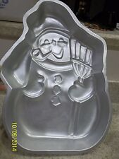 Wilton Cake Pan Used Frosty the Snowman 502-1646 from 1980