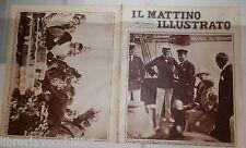 Mussolini Chamberlain Timishoara Raimondo de Sangro Cobra Duchessa Aosta Tripoli