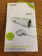 White Cell Phone Chargers & Holders for Apple iPhone 4 | eBay