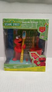 Fisher Price Sesame Street Teach Me To Brush Elmo 2007 Wal-Mart Exclusive NIB