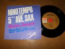NINO TEMPO - SISTER JAMES - CLAIRE DE LUNE IN  - 45 PS / LISTEN - SOUL FUNK JAZZ