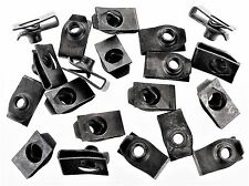 """Ford Truck U-nut Clips- 1/4-20 Thread- 17/32"""" Center To Edge- 20 clips- #192"""