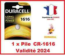 1 Battery CR-1616 Duracell Button Lithium 3V Dlc 2029