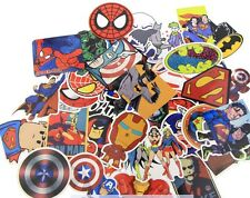 Marvel Superhero 50 Stickers Skateboard Laptop Car Phone Decals Stickerbomb