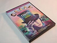 Charlie & The Chocolate Factory Movie DVD 2005 Warner Bros Johnny Depp Like New