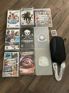 PSP Games Bundle W/ Extras