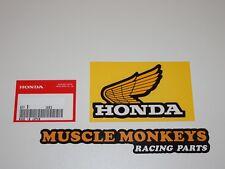 HONDA Monkey Tankaufkleber FLÜGEL HONDA Original Links!