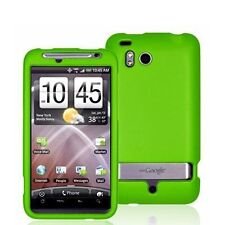 Hard Rubberized Case for HTC Thunderbolt - Green