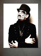 King Diamond Mercyful Fate Promo Photo 8x10 Judas Priest Iron Maiden Venom 2