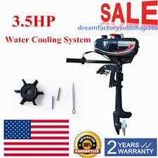 3.5HP 2-Stroke Tiller Outboard Boat Motor Shaft Engine Outboard Motor CDI system