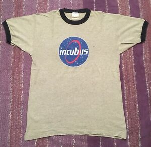 Incubus Band T-Shirt  NASA Logo Make Yourself Tour Vintage 2000!