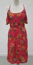 The Collection Debenhams Cold Shoulder Bop Floral Dress - Size 16