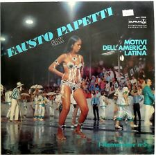 DISCO VINILE 33 GIRI FAUSTO PAPETTI MOTIVI AMERICA LATINA REMEMBER 5 1969