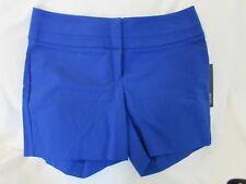 "Ladies ""Apt 9"" Size 10, Hypntic Blue, Mid Rise, Wide Waist, Welt Pocket, Shorts"