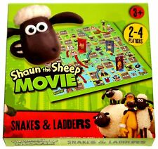 SHAUN THE SHEEP THE MOVIE SNAKES & LADDERS GENUINE LICENSED