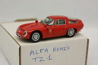 Best SB 1/43 - Alfa Romeo TZ1 Rouge