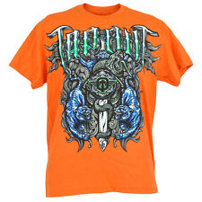 Tigre Serpiente Tapout Jaula Luchador Mma UFC Fighting Hombre Adulto Camiseta
