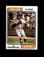 1974 Topps Baseball #561 Ed Kranepool (Mets) NM