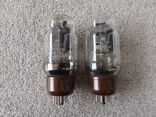 Pair Marconi KT66 Valves Tubes Tested Strong