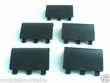 5x Black Battery Cover Lid Shell Door Replacement Xbox One Wireless Controller