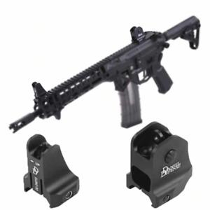 Combo Set Windage Adjustment Knob for Hunting Airsoft Apertures Iron Sights gun