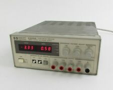 Hp Agilent E3630a Triple Output Dc Power Supply 0 To 6v 25a