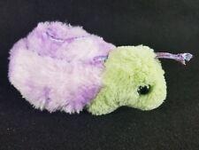 "The Bearington Collection Green and Blue Snail Plush 8"" Stuffed Animal"