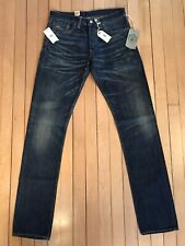 RRL Ralph Lauren - Double RL - Slim Narrow Vintage Dirty Denim Jeans - 30x34