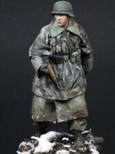 1/16 Scale German Soldier Resin Figure Kit Unassembled Unpainted (R)