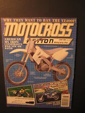 1998 June MOTOCROSS ACTION Magazine moto x mx dirt bike racer AHRMA MXA