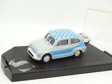 Progetto 1/43 - Fiat 600 Abarth 850 TC Grise et Bleue
