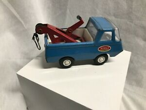 1970's Vintage Mini Blue Ford Econoline Tonka Wrecker