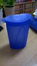 Tupperware  -  Junge Welle Kanne 1,0 L, blau, oval